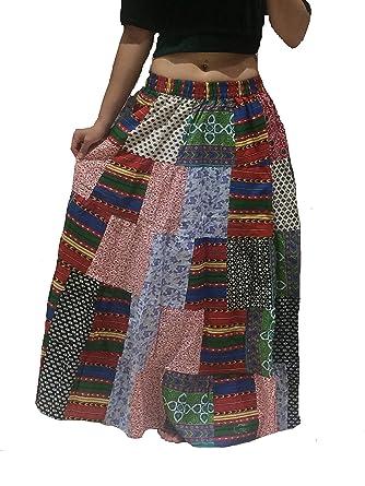 1 - Tribal Gypsy Maxi Hippy Falda Belly Dancing Faldas Banjara ...