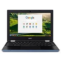 Acer NX.GR3EK.001 Chromebook 11.6-Inch Laptop (Stone Blue) - (Intel Celeron N2840 Processor, 2 GB RAM, 16 GB eMMC, Intel HD Graphics 500, Chrome OS)