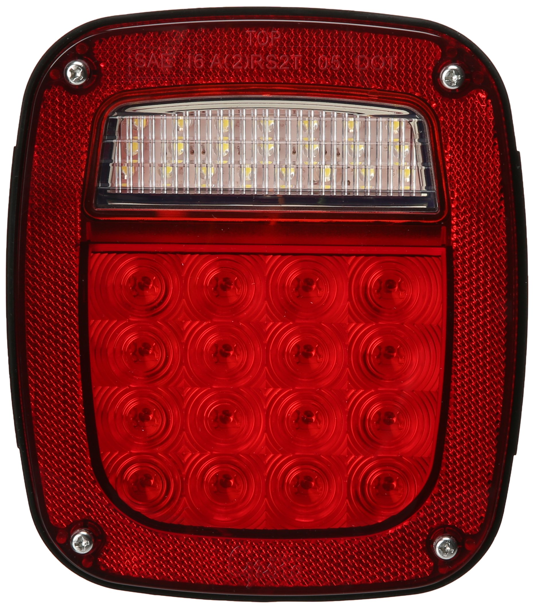 Grote G5082-5 Hi Count LED Stop Tail Turn Light (RH without Sidemarker) by Grote