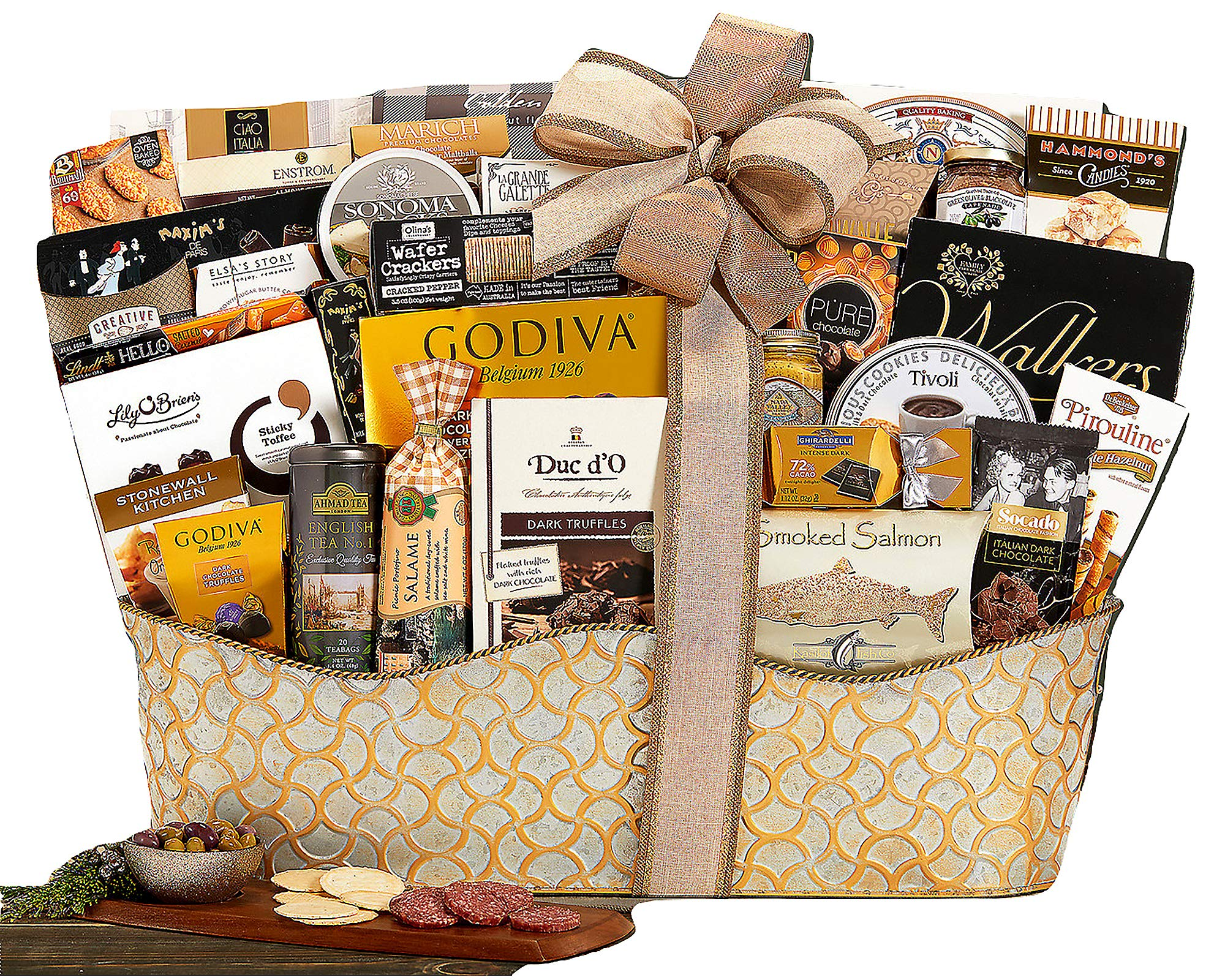 The V.I.P. Gourmet Gift Basket The Ultimate Gifting Experience by Wine Country Gift Baskets. Show Your Appreciation With This Flawless Gift Idea by Wine Country Gift Baskets (Image #1)