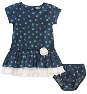 Calvin Klein Baby Girls Dress with Panty Set
