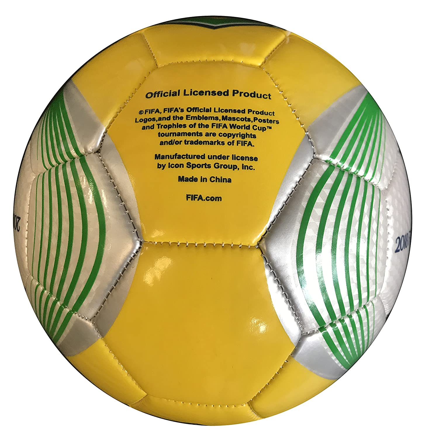 Icon Sports World Cup 2018 Brasil - Balón de fútbol: Amazon.es ...