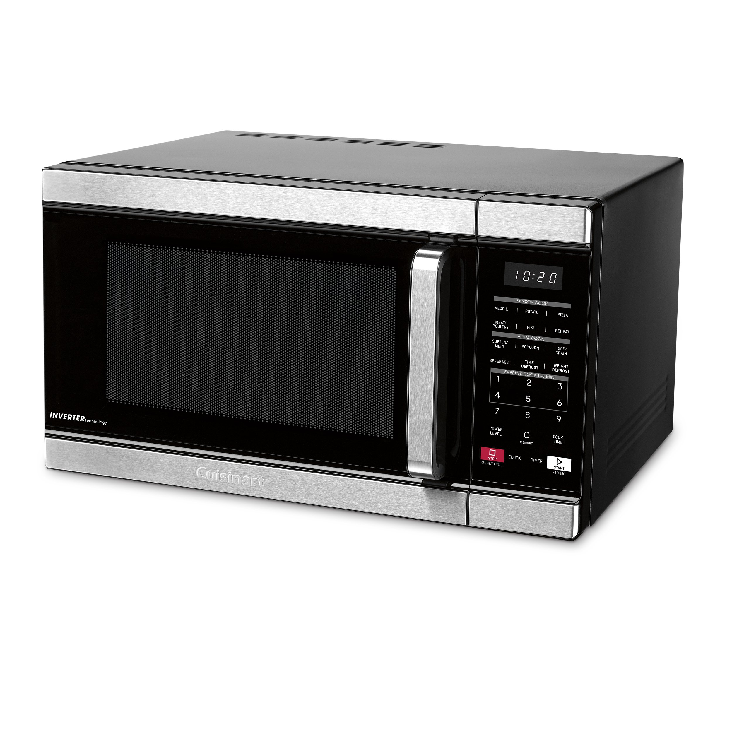 Cuisinart CMW-110 Stainless Steel Microwave Oven, Silver by Cuisinart