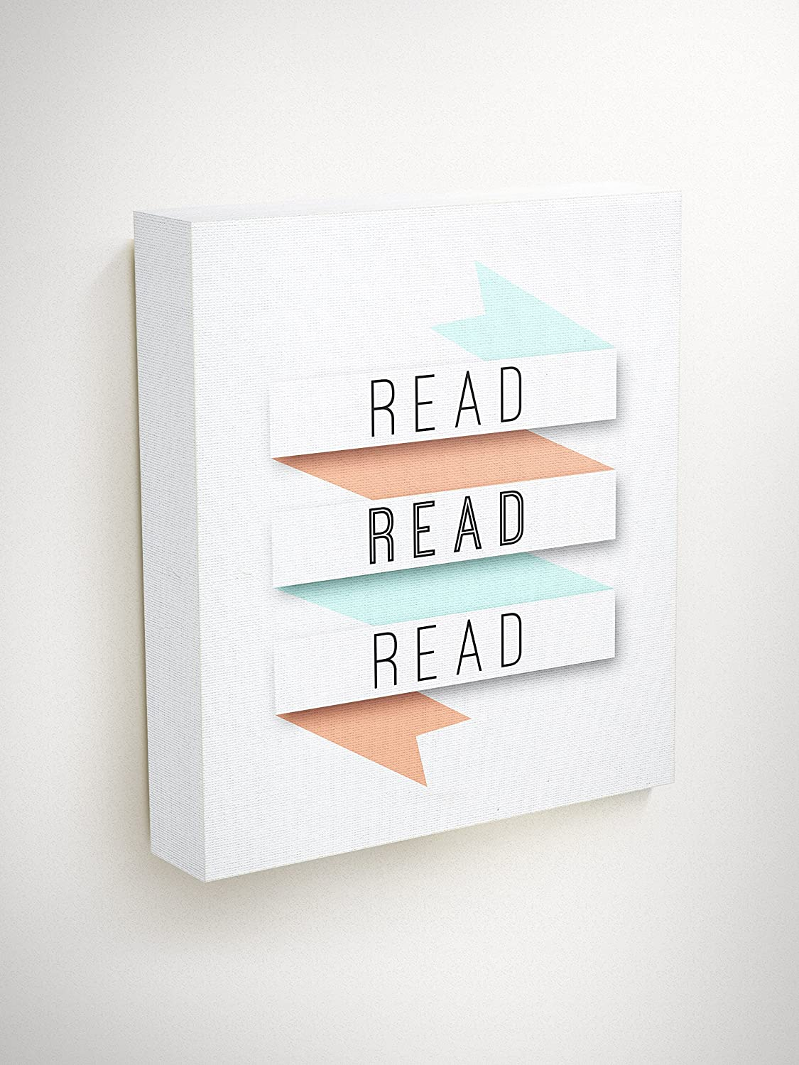 Amazon Com Reading Wall Art Canvas Quotes Motivation Gifts