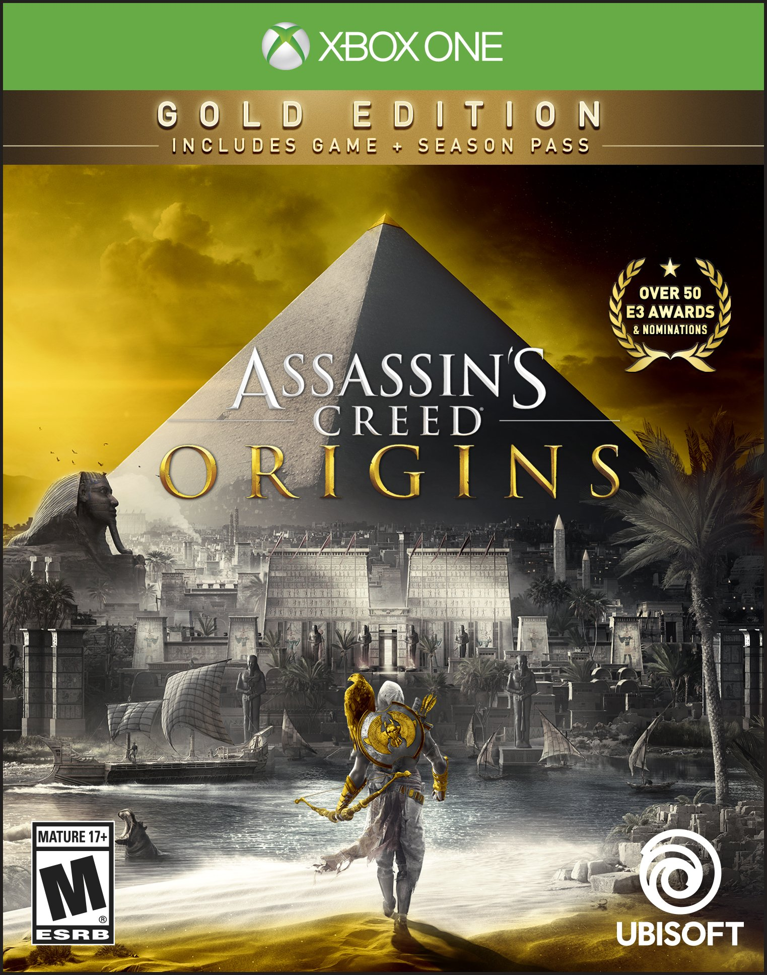 Assassin's Creed Origins Gold Edition - Xbox One [Digital Code]