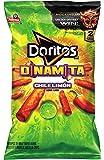 Doritos Dinamita Chile Limón Rolled Flavored Tortilla Chips, 9.25 Ounce