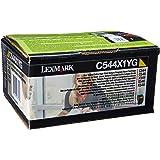 Lexmark C544X1YG C544 C546 X544 X546 X548 Toner Cartridge (Yellow) in Retail Packaging