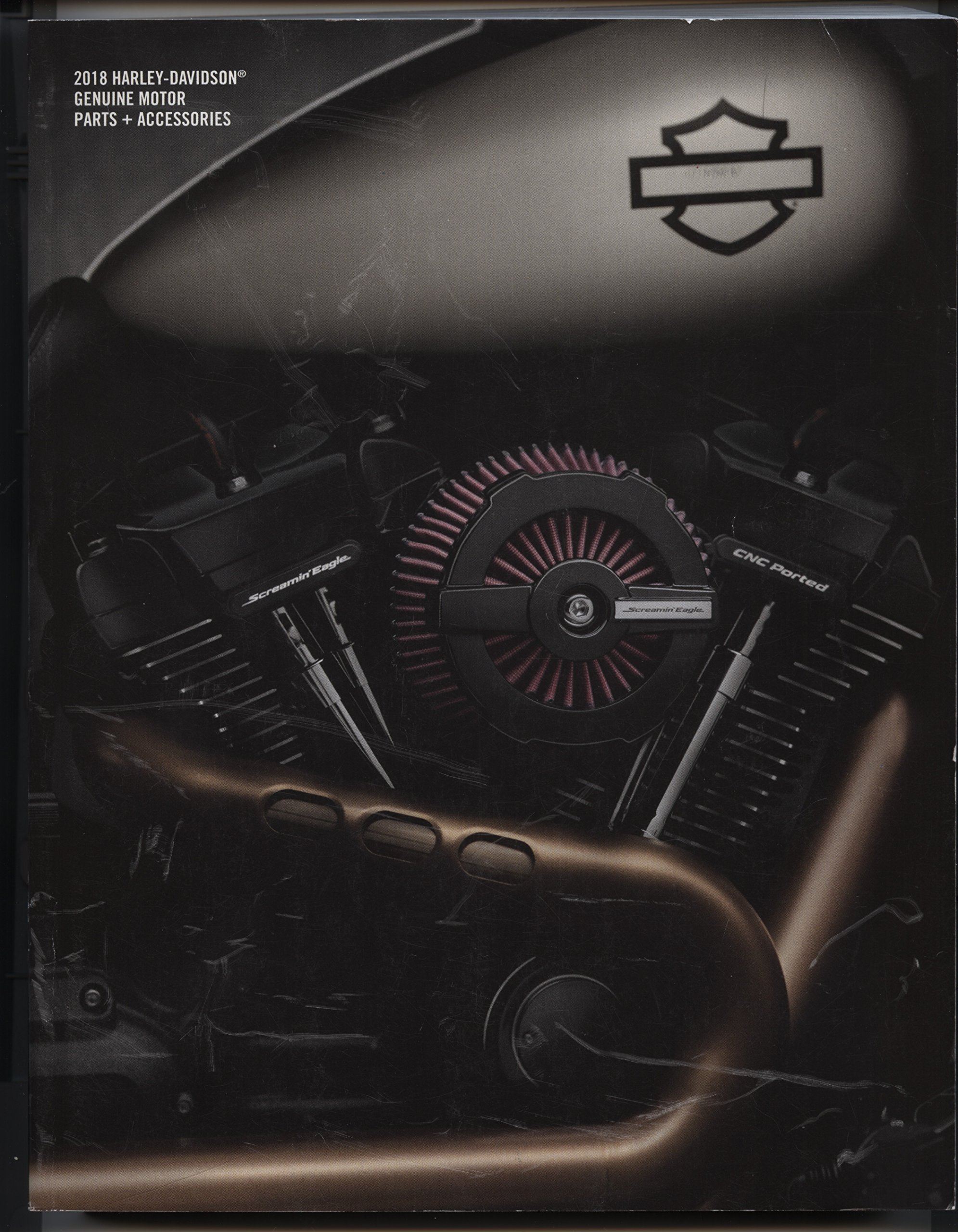 be266eaee7 2018 Harley-Davidson Genuine Motor Parts + Accessories Paperback – January  1, 2017