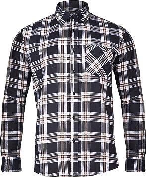 Lahti Pro – Camisa de hombre de franela, 100% algodón, a cuadros – CE/EN 340, Azul, LPKF2S: Amazon.es: Bricolaje y herramientas