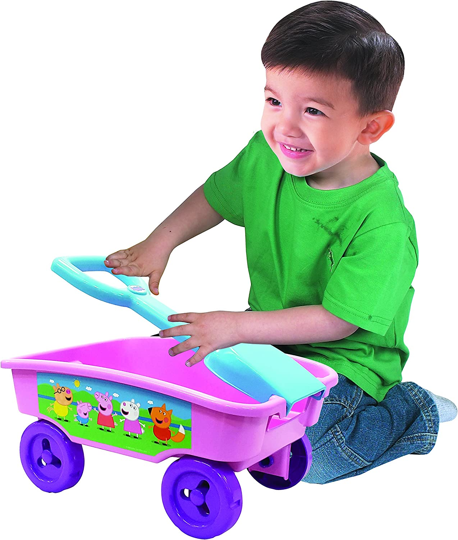 Amazon.com: Disney - Juguete de carrito de juguete, Peppa ...