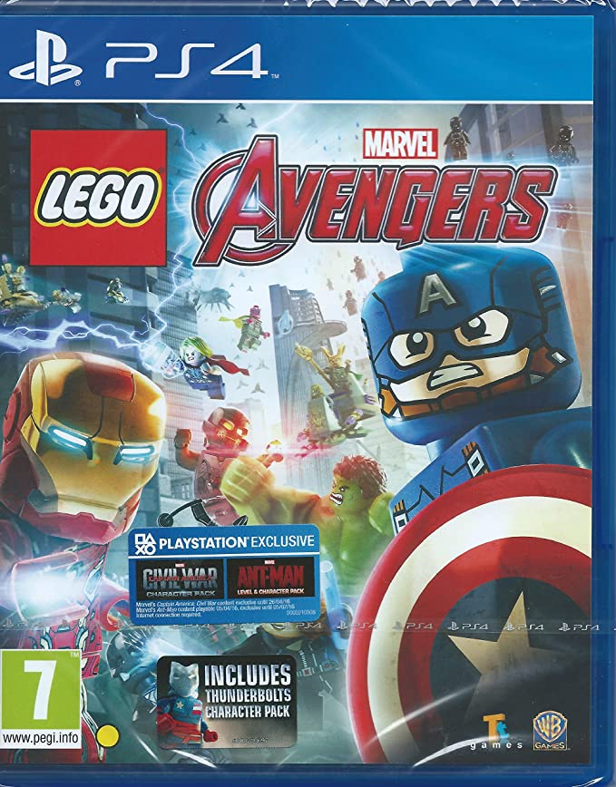 LEGO Marvel Avengers incluye Thunderbolts ANT-Man civil-war ...