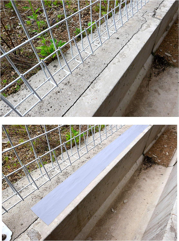 "Gray Cozy Co Butyl Rubber Waterproof Tape 4/"" X 50/' Weatherproof RV Pipe Rupture Boat Sealing Surface Crack Roof Window Sealant Seam Flashing"