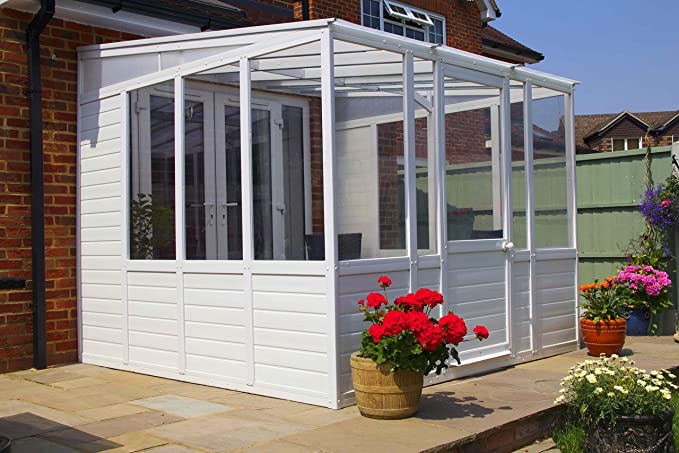Diy Budget Plastic Glazed Sunroom Garden Room Conservatory Lean To