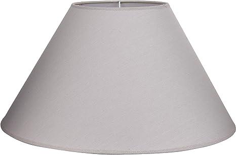 Lampenschirm Leinen weiß 8-eckig 40cm
