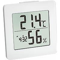 Blommande väder 30.5033.02 digital termohygrometer - vit