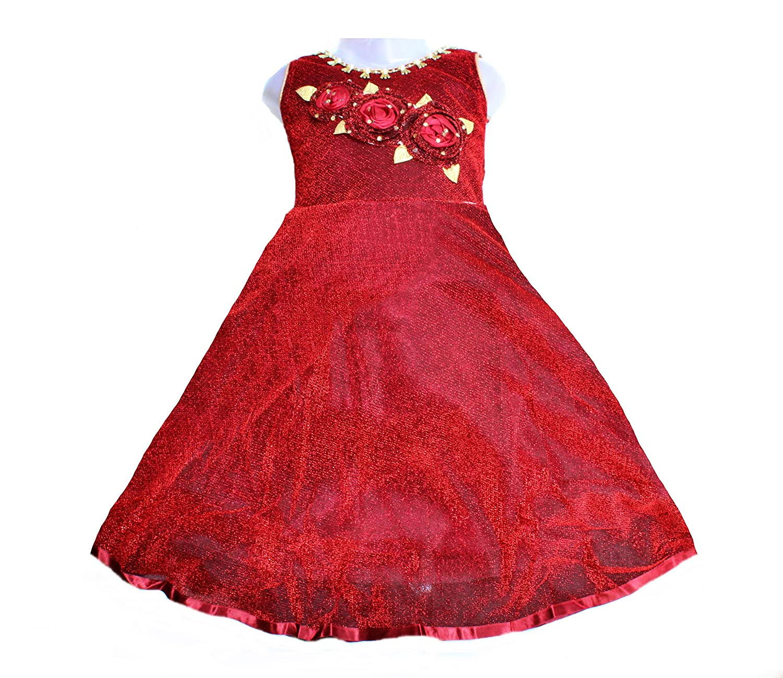 a60dd35f7fd0 Kashvi Girls Party wear Dress - Girls Long Frock Model Number 10 ...