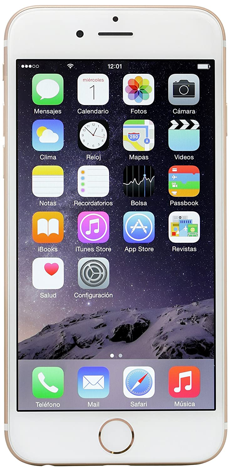 Apple iPhone 6 16 GB, Oro Desbloqueado
