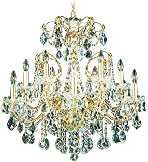 product image for Schonbek 1712-40 Swarovski Lighting Century Chandelier, Silver