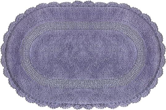 Bacova Guild Jessica Simpson Carlin Purple Haze Bath Rug