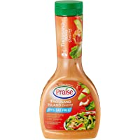 Goodman Fielder Praise Thousand Island Fat Free Dressing, 330ml