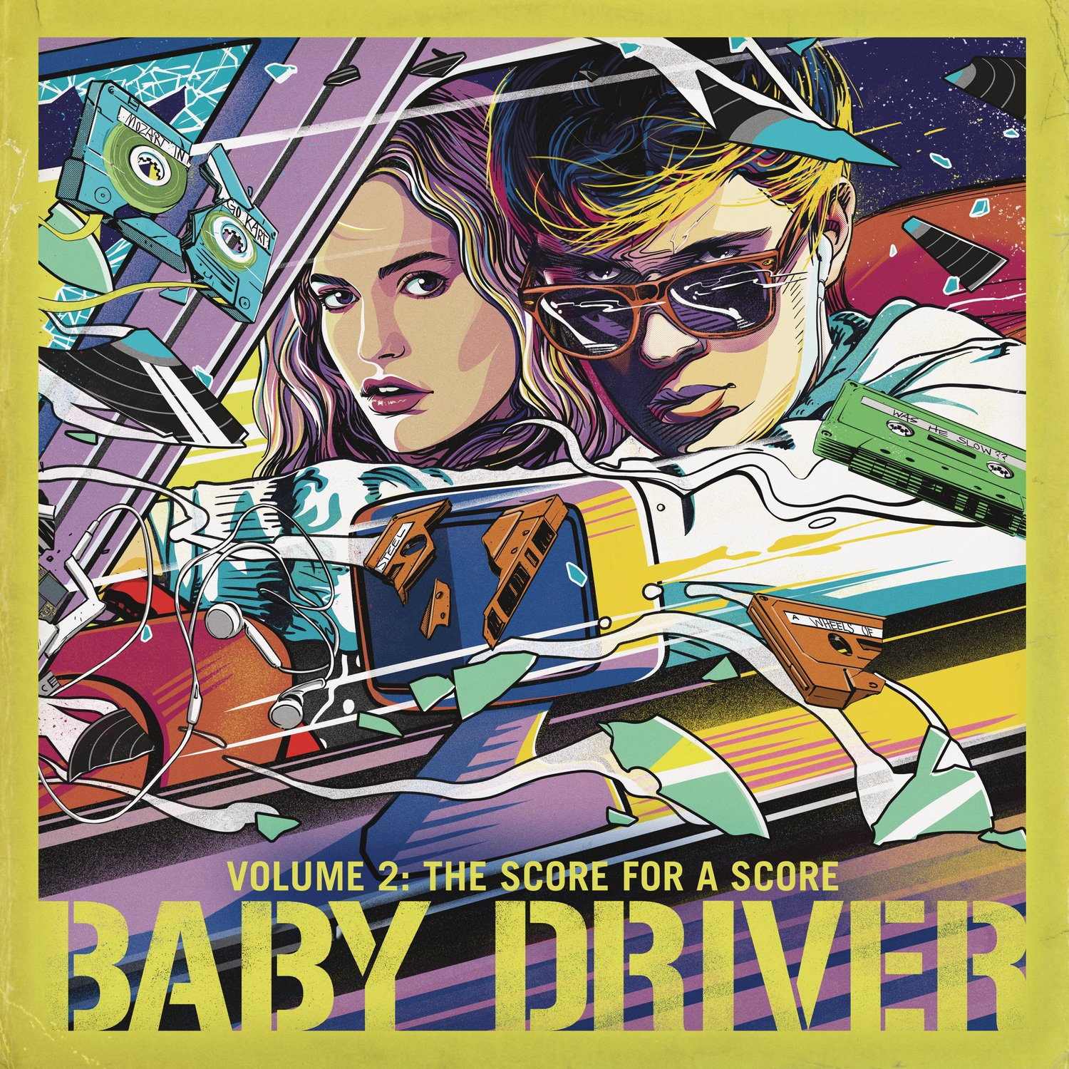 Vinilo : VARIOUS ARTISTS - Baby Driver Volume 2: The Score For A Score (various Artists) (LP Vinyl)