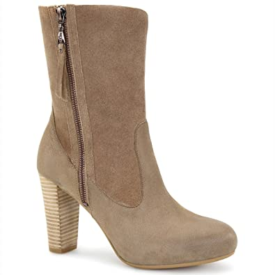 UGG Women's Athena Carmel Leather/Suede Boot 12 B ...