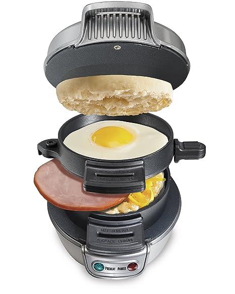 Amazon Hamilton Beach 25475a Breakfast Sandwich Maker Electric