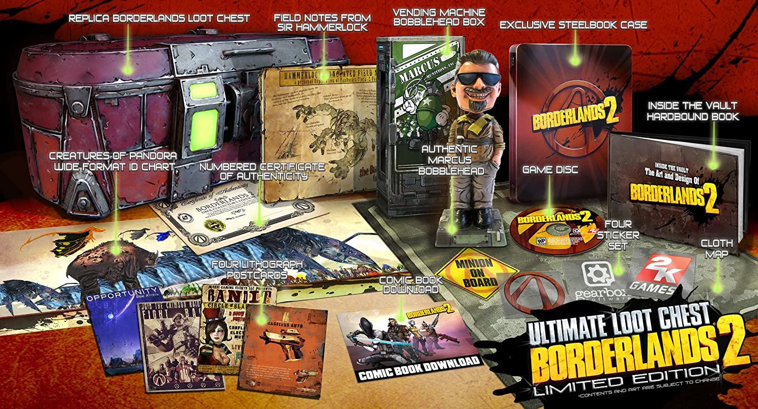 Amazon com: Borderlands 2 Ultimate Loot Chest Limited Edition - PC