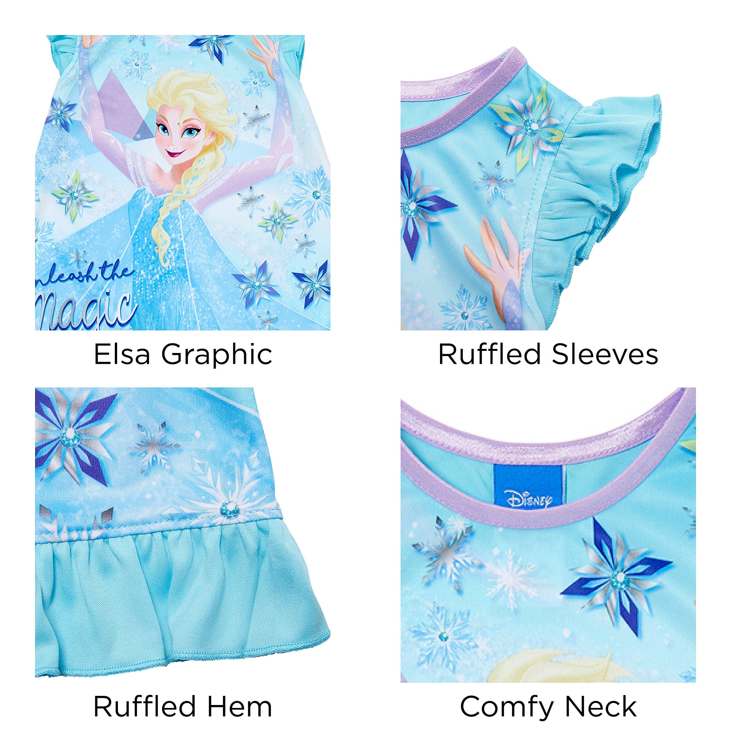 Disney Girls\' Frozen Nightgown - 21FZ717GD < Nightgowns < Clothing ...