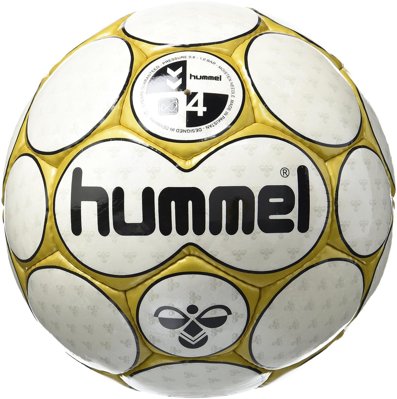 hummel 0,2 Concept - Balón de fútbol Blanco White/Gold Talla:4 ...