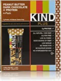 KIND Bars, Peanut Butter Dark Chocolate + Protein, Gluten Free, 1.4 Ounce Bars, 4 Count