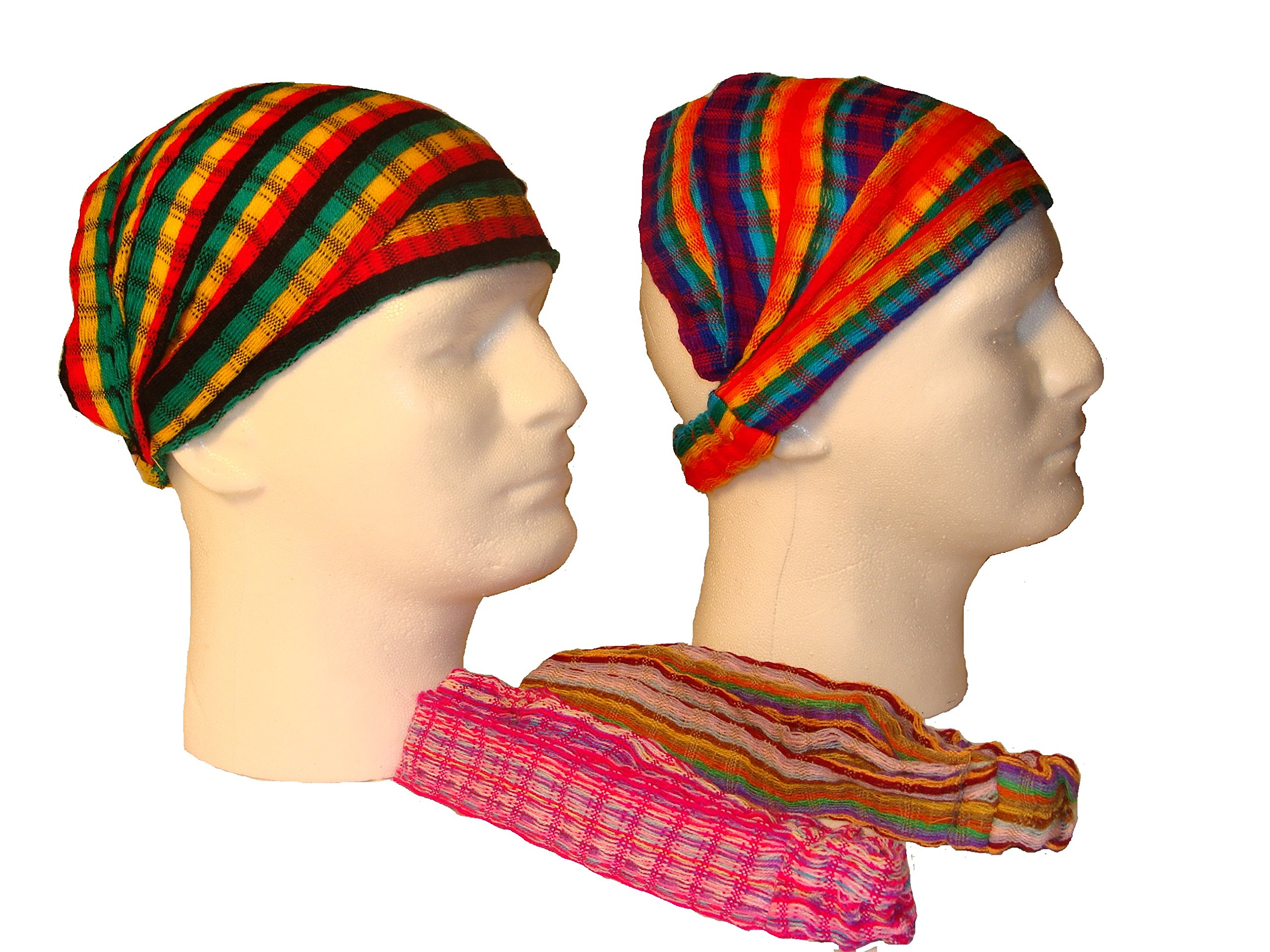 Wholesale 3 Cotton Headbands Hair Assortment Hand Woven Colorful Peru Fair Trade by Sanyork (Image #3)
