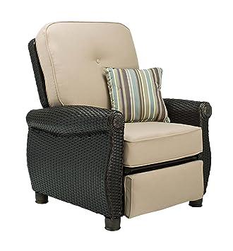 La-Z-Boy Outdoor Breckenridge Resin Wicker Patio Furniture Recliner (Natural Tan)  sc 1 st  Amazon.com & Amazon.com : La-Z-Boy Outdoor Breckenridge Resin Wicker Patio ... islam-shia.org