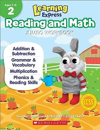 Learning Express Reading and Math Jumbo Workbook Grade 2 ...