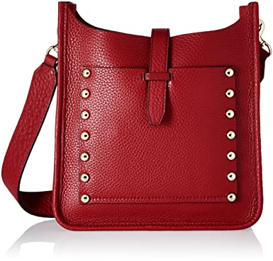 df9900a3e Amazon.com: Rebecca Minkoff Small Unlined Feed Bag, Deep Red: Clothing