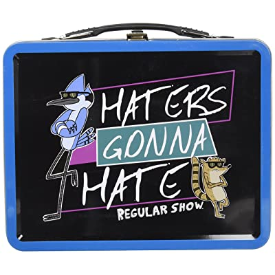 Regular Show Haters Gonna Hate Tin Tote Gift Set - Con.Excl.: Kitchen & Dining