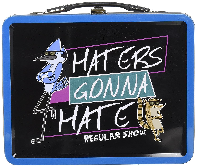 BBP21814T Regular Show Haters Gonna Hate Tin Tote Bif Bang Pow