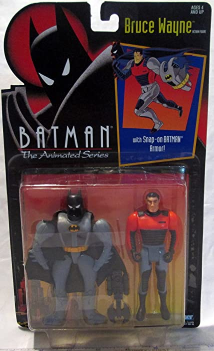 Kenner Batman: The Animated Series Bruce Wayne Action Figure 4.75 Inches