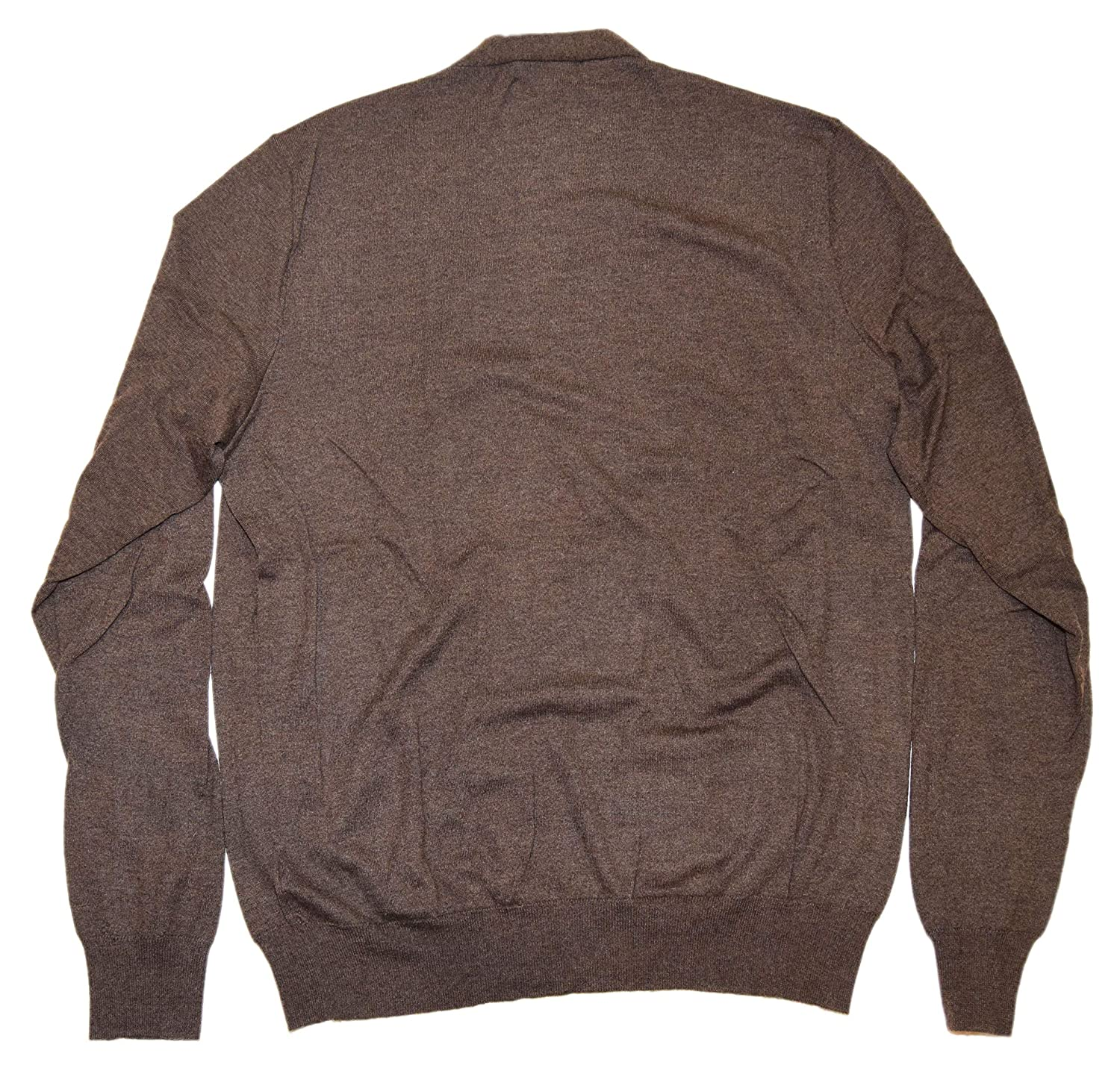420e79909a5282 Ralph Lauren Purple Label Mens Cardigan Fine Cashmere Sweater Italy Brown  Large at Amazon Men's Clothing store: Pullover Sweaters