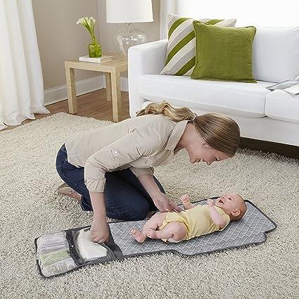 Amazon.com : Corralito Para Bebés - Cuna/Cama Con Estación Cambiadora De Pañales : Baby