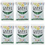Wilton 12 oz. Dark Green Candy Melts Candy, 6-Count
