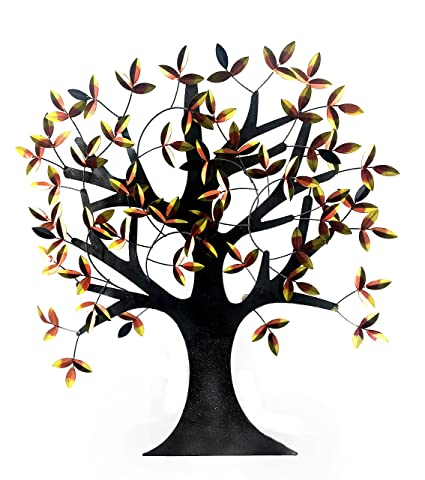 amazon big willow tree of life decorative metal wall art elite