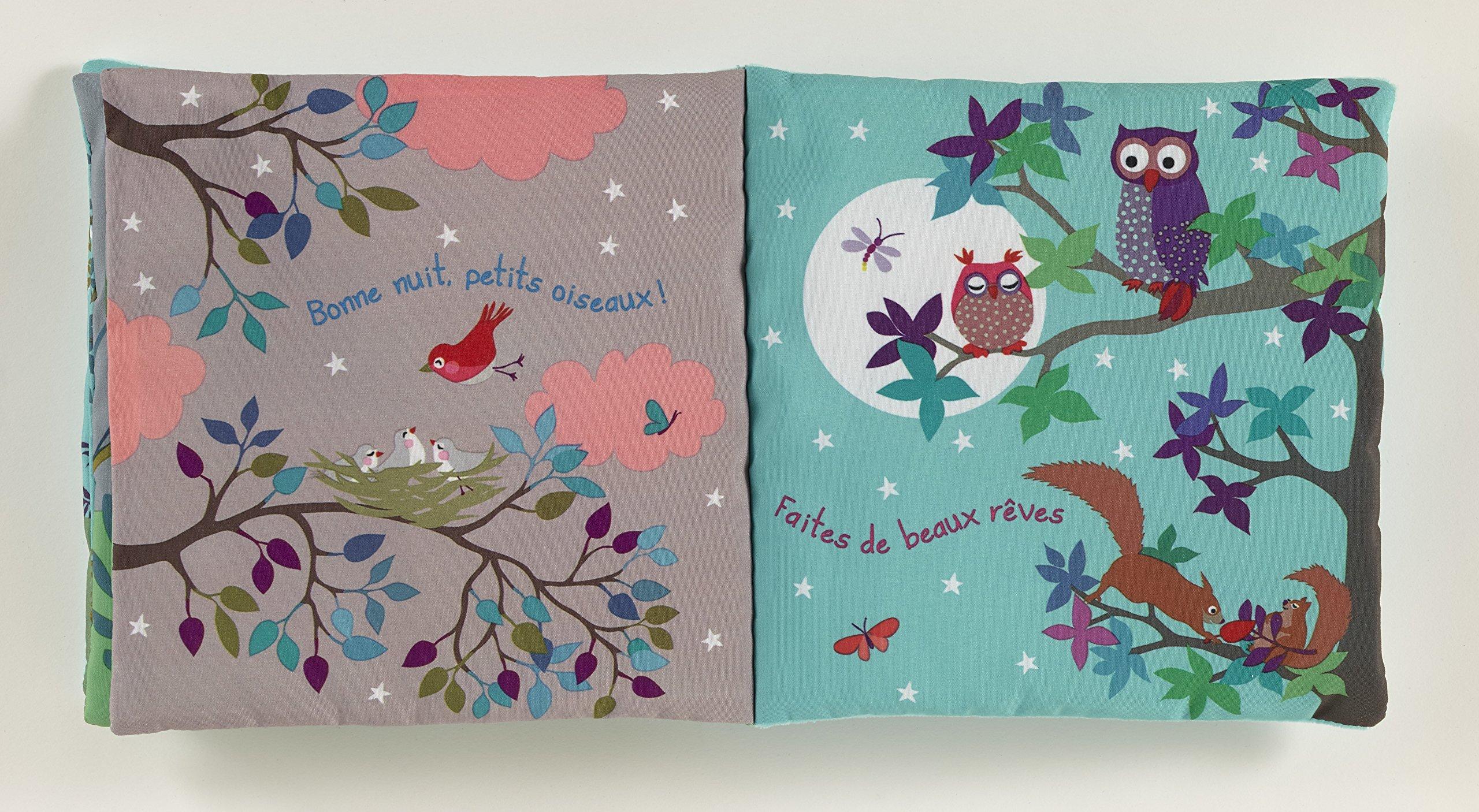 Mon livre tranquille livre dactivit/és en tissu doux pour les tout-petits et les jeunes enfants
