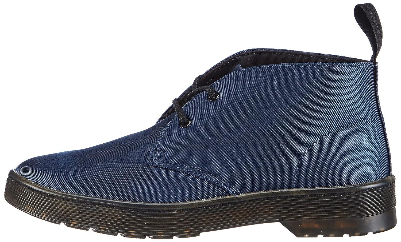 Dr. Martens DAYTONA Satin BLUE, Damen Desert Boots, Blau (Blue), 41 EU