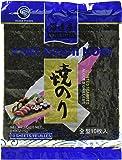 Kaitatuya Yaki nori Full Size Roasted Seaweed for Sushi and Miso soup  25 g - Blue (Pack of 10, 10 Sheets Each)