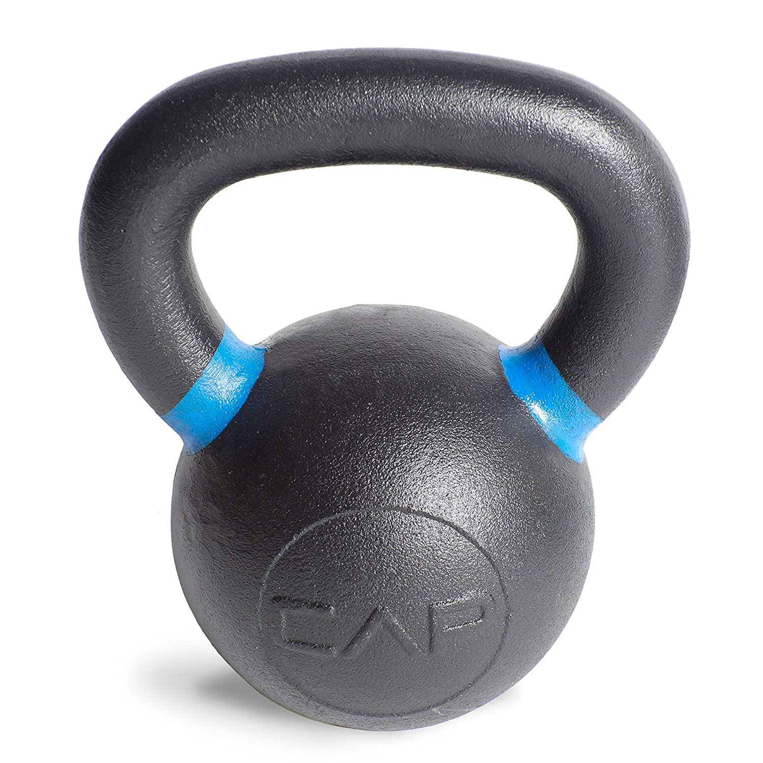 CAP Barbell Cast Iron Competition Weight Kettlebell, 26-Pound, Black/Blue SDK5-026