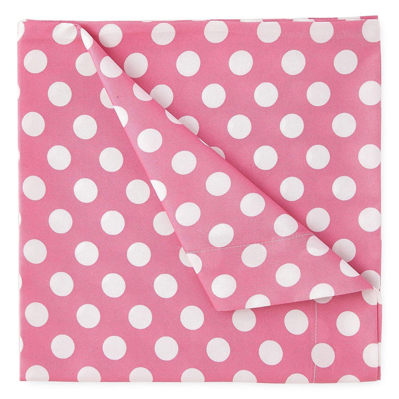 Kute Kids Super Soft Sheet Set - Pink Polka Dot - Brushed Microfiber for Extra Comfort