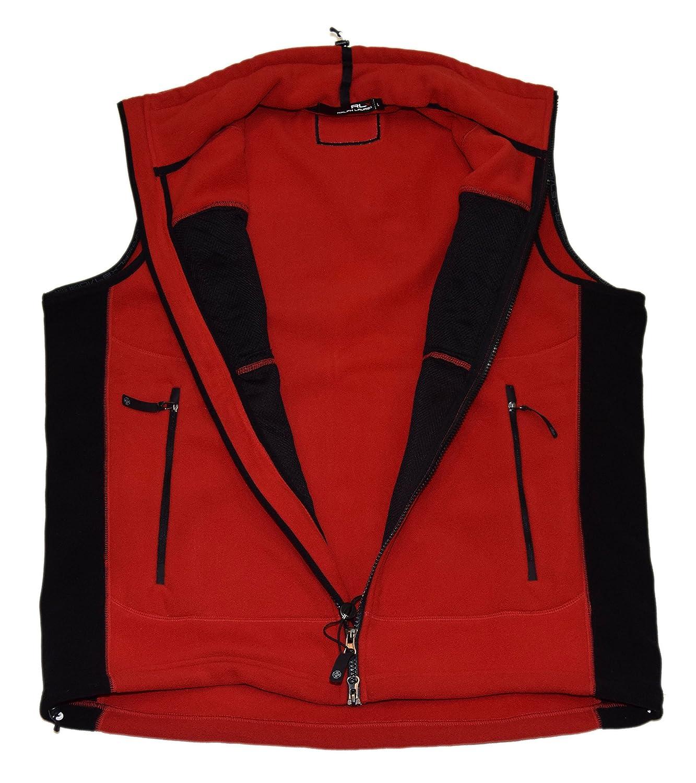 biggest discount 26ede 0cf9a Ralph Lauren Polo RLX Mens Full Half Zip Fleece Vest USA ...