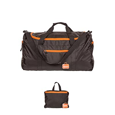 Travis Travel Duffel Bag - Foldable Carry-on with waterproof electronics pocket