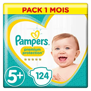 Pampers Premium Protection Couches Taille 5 12 17 Kg Pack